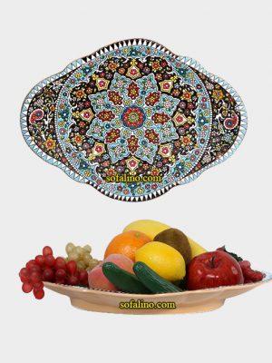 سینی بیضی میوه خوری